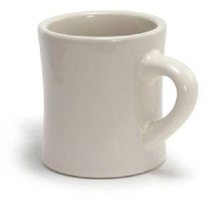 10OZ Traditional Thick Wall Custom Ceramic Coffee Diner Mug