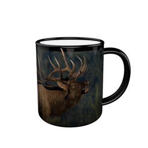 11OZ Black  Ceramic Mug With Custom Printing