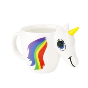 Heat Sensitive Ceramic Unicorn Color Changing Rainbow Magic Mugs Cups