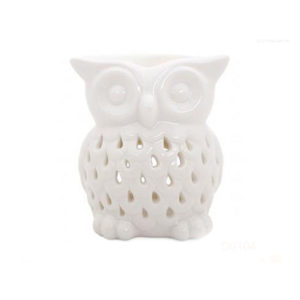 Ceramic Owl Shaped Oil Burner Warmer