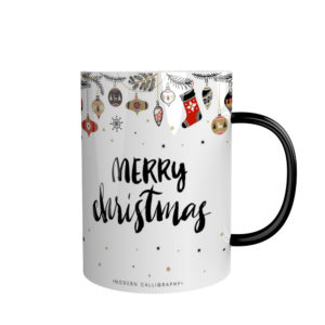 Holiday Gift Idea Ceramic Christmas Mug