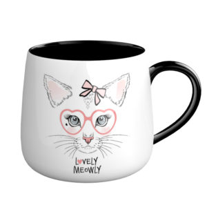 Ceramic Cat Coffee mug Cup personalized