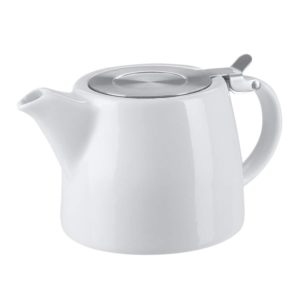 18OZ Ceramic Ceramic Teapot With Strainer