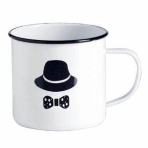Custom Print Enamel Mug Camping Mug