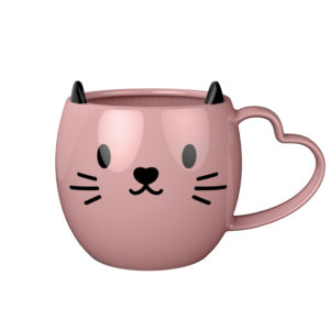 Ceramic Cute Cat Shaped Mug