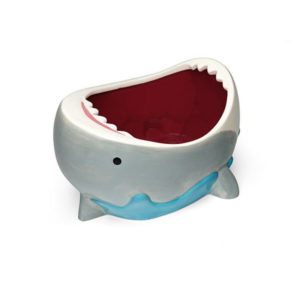 Wholesale Ceramic Cute Shark Attack Salad Bowl