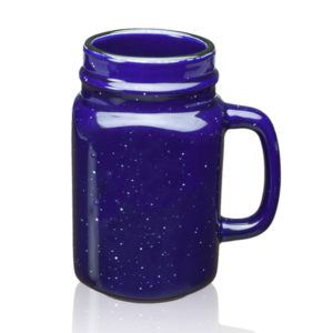 16 OZ Custom Logo Speckle Mason Jars Mugs