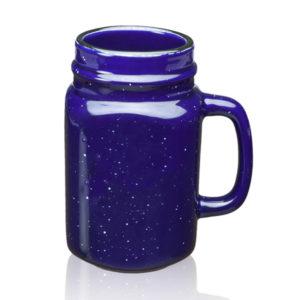 16 OZ Custom Logo Speckle Mason Jars Mugs
