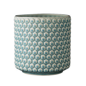 Crackle Glazed Jelly Ceramic Flower Planter Pot