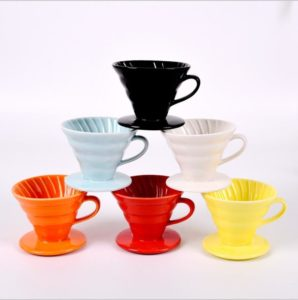 V60 Ceramic Coffee Dripper Filter