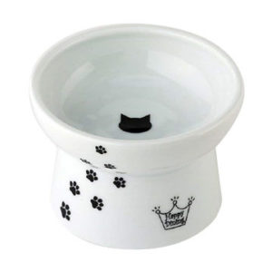 Ceramic Pet Dog Cat Food Bowl