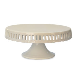 10 Inch Wedding Baby Shower Birthday Pedestal Footed Ceramic Porcelain Cake Stand Holder