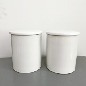 Ceramic candle jars available in stock
